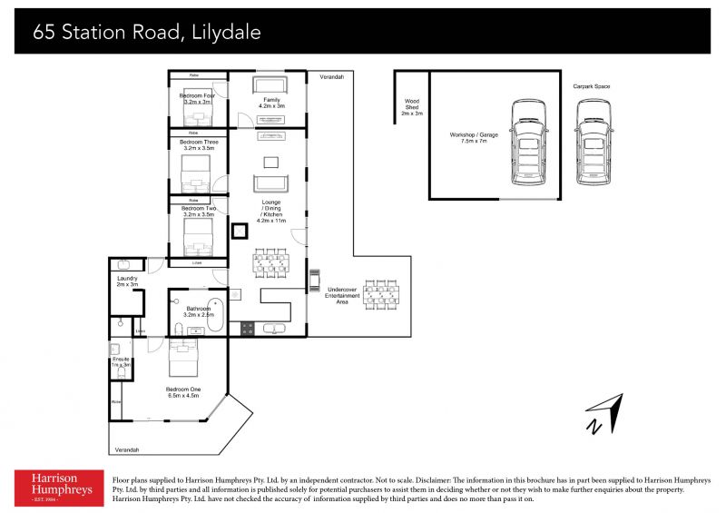 65 Station Road Floorplan