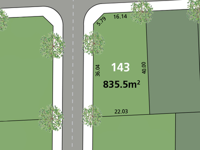 Glenmore Park, Lot 143 Proposed  Road