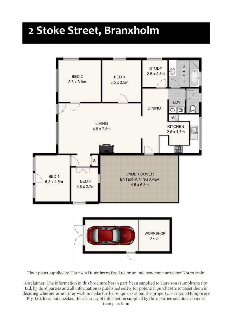 2 Stoke Street Floorplan