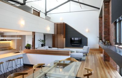 Bespoke Woolstore Apartment-  Stunning Luxury Finishes with Beautiful Architectural Design