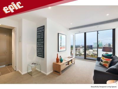 Epic: Stunning One Bedroom High Up on the 28th Floor!