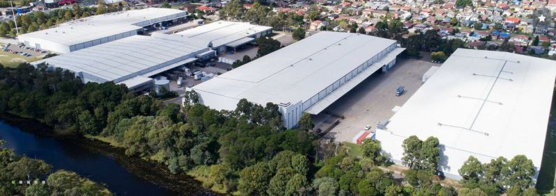 The industrial hub of Moorebank