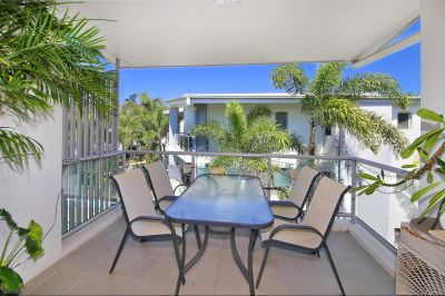 Just a short walk from the beach, cafes and shops