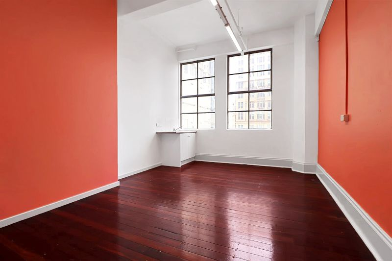 Timber floors and high ceilings