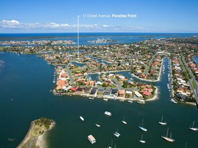 The Last North Facing Waterfront Block in Paradise Point!
