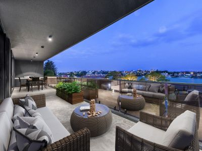 Ultra Luxury Penthouse with Stunning River Views & Pool