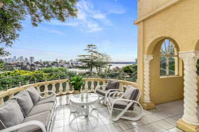 Unique Family Home with Harbour and City Views Set On c.772 Sqm of Land