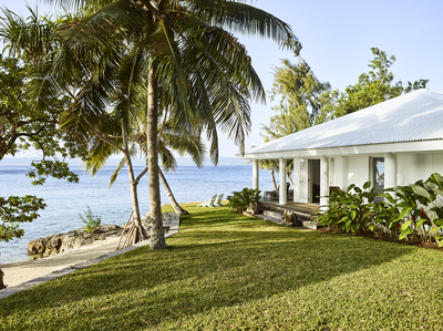 Private beachfront estate on Vanuatu's Paradise Cove