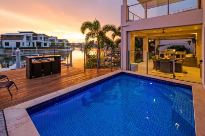 Is this Stunning Home the Ultimate Waterfront Entertainer?