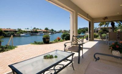 Luxurious North To Water Low Set Home - Over 29m* Waterfrontage