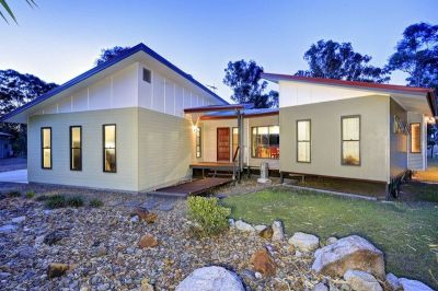 REMARKABLE 5 ACRE PACKAGE WITH MODERN HOME & HUGE SHED!