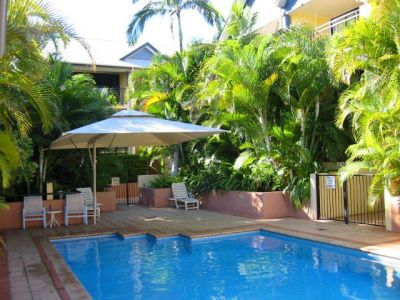 Air conditioned unit with pool in complex!