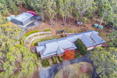 PICTURE PERFECT AND ON APPROX 10 STUNNING ACRES