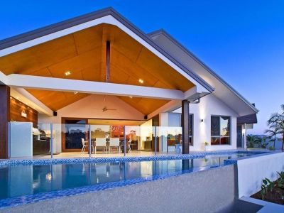 Single Level, Pavilion, Resort-Style Home by Award-winning Designer