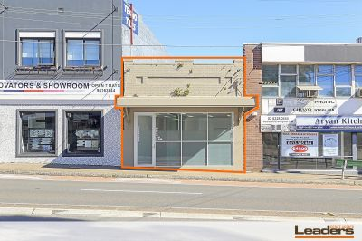 Renovated office with rear lane access & apartments development potential