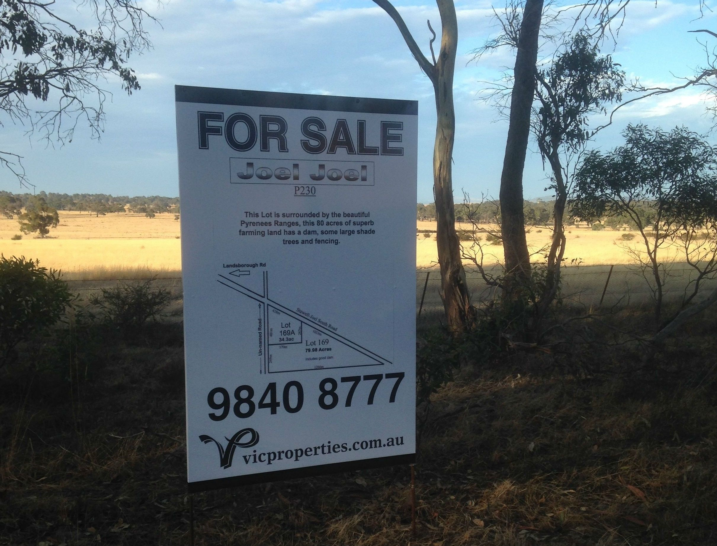 Lot 169/ Joel South Road, Joel Joel VIC 3384