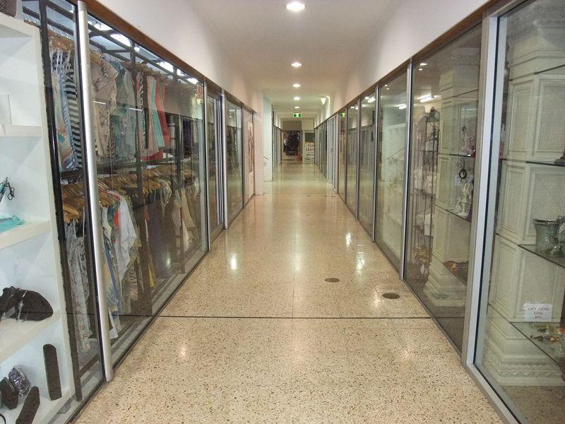 Glass Front Arcade Premises - 33m2