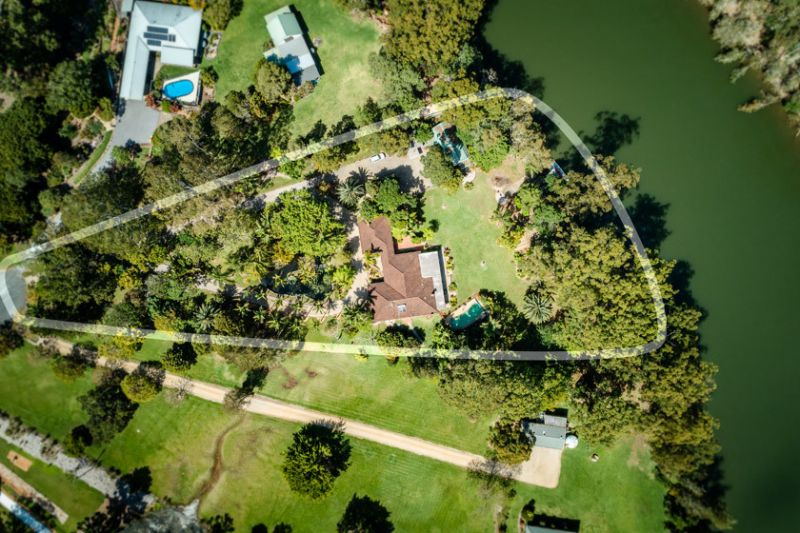 Impressive Absolute Waterfront Home on 2 Acres
