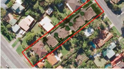 DA Approved Site for 4 new 2 level detached houses plus Existing Home!