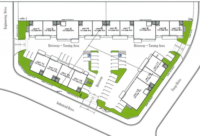 NEW DEVELOPMENT; INDUSTRIAL UNITS...