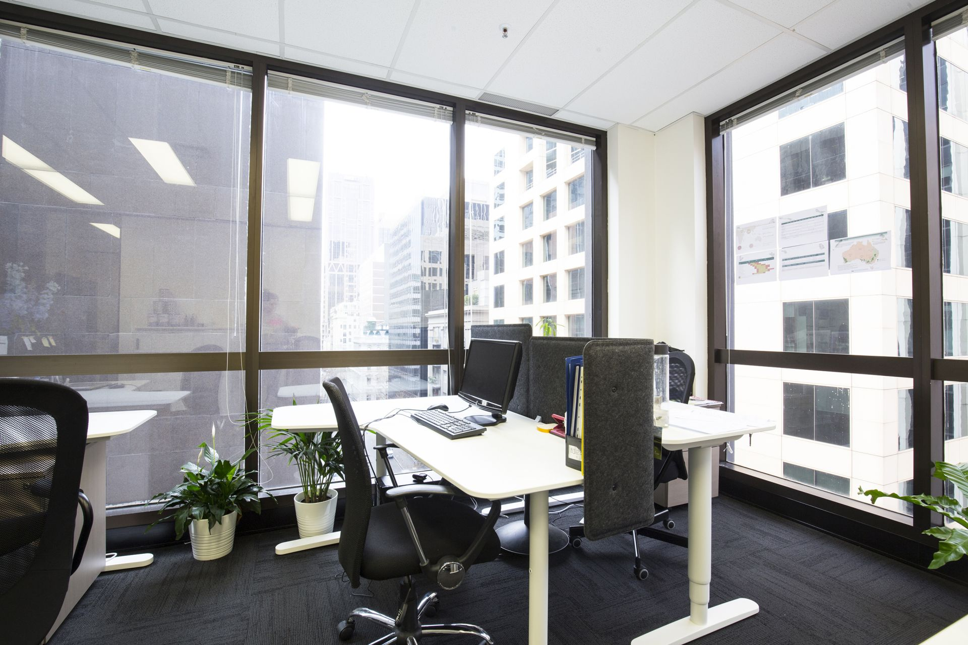 Fantastic corner office with impeccable CBD skyline views!