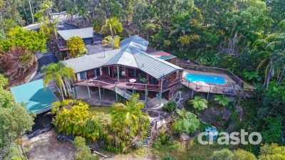 Spacious Renovator with Dual living, Ocean Views on Over 8 Private Acres
