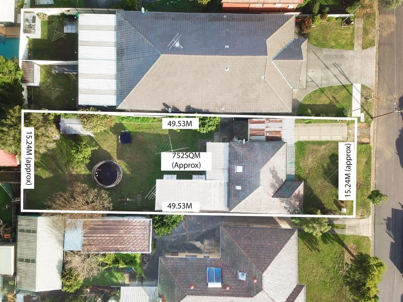 752sqm in land – 15.24m frontage