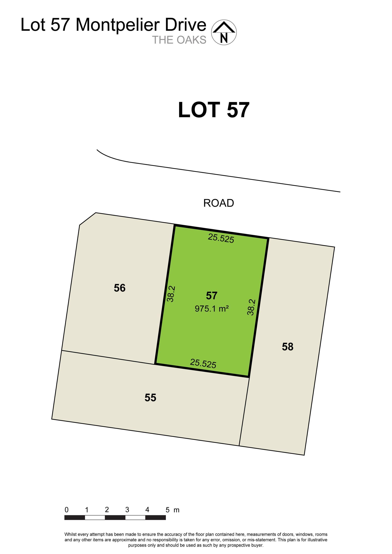 Lot 57, 790 Montpelier Drive The Oaks 2570