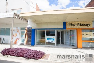 Office in Busy Shopping Strip