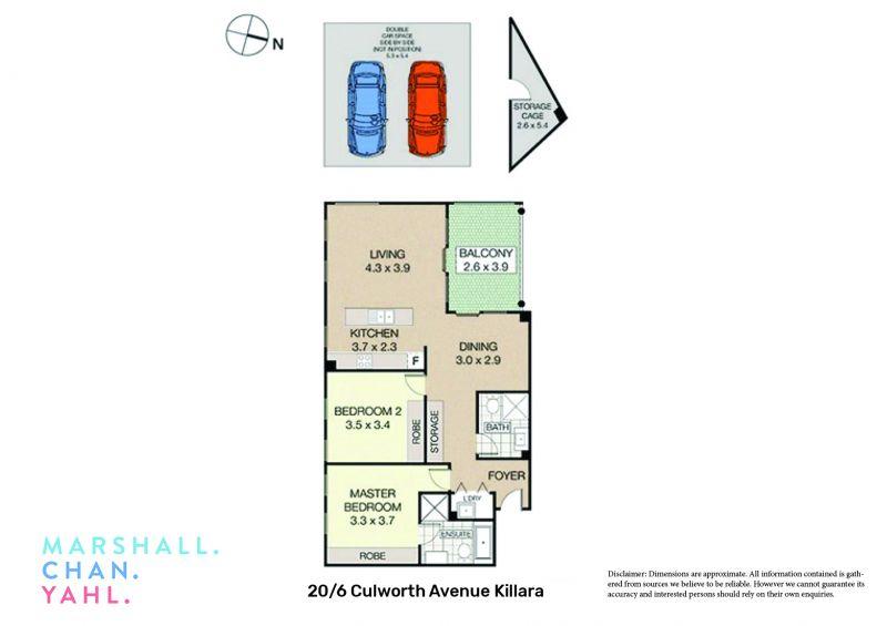20/6-8 Culworth Avenue Killara 2071