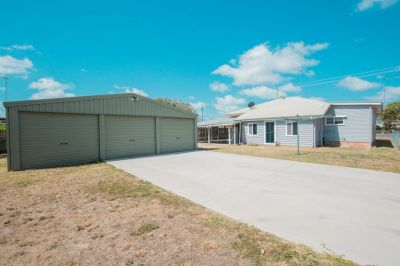 PRIME LOCATION WITH TWO STREET ACCESS & 3 BAY SHED!