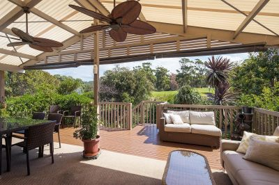 Located on Golf Course with Stunning Views