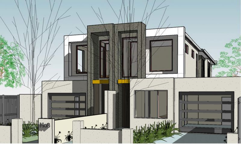 Permit Approved: Dual Townhouse Site