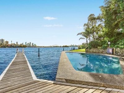 Impressive 100sqm three bedroom apartment with water view.