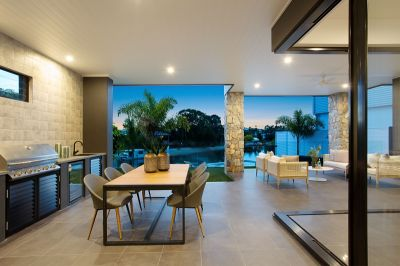 Stunning Brand New North East Facing Waterfront Residence