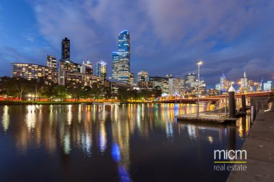 Never to be built out Yarra River Views!