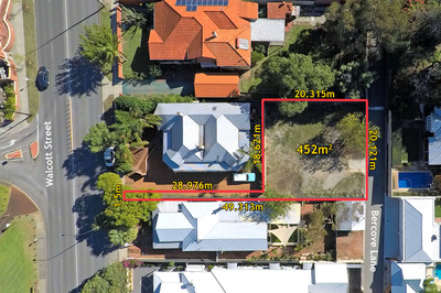 452 sqm vacant land - Top end of town