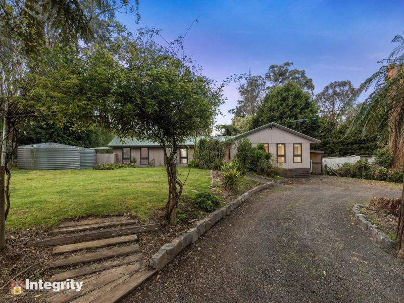 HALF AN ACRE WITH LARGE HOME & SHED