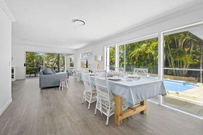 Freshly renovated home on Lake Hugh Muntz