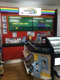 NEWSAGENCY – Cairns Northern Beaches ID#4116763 –Latest Golden Casket Image installed