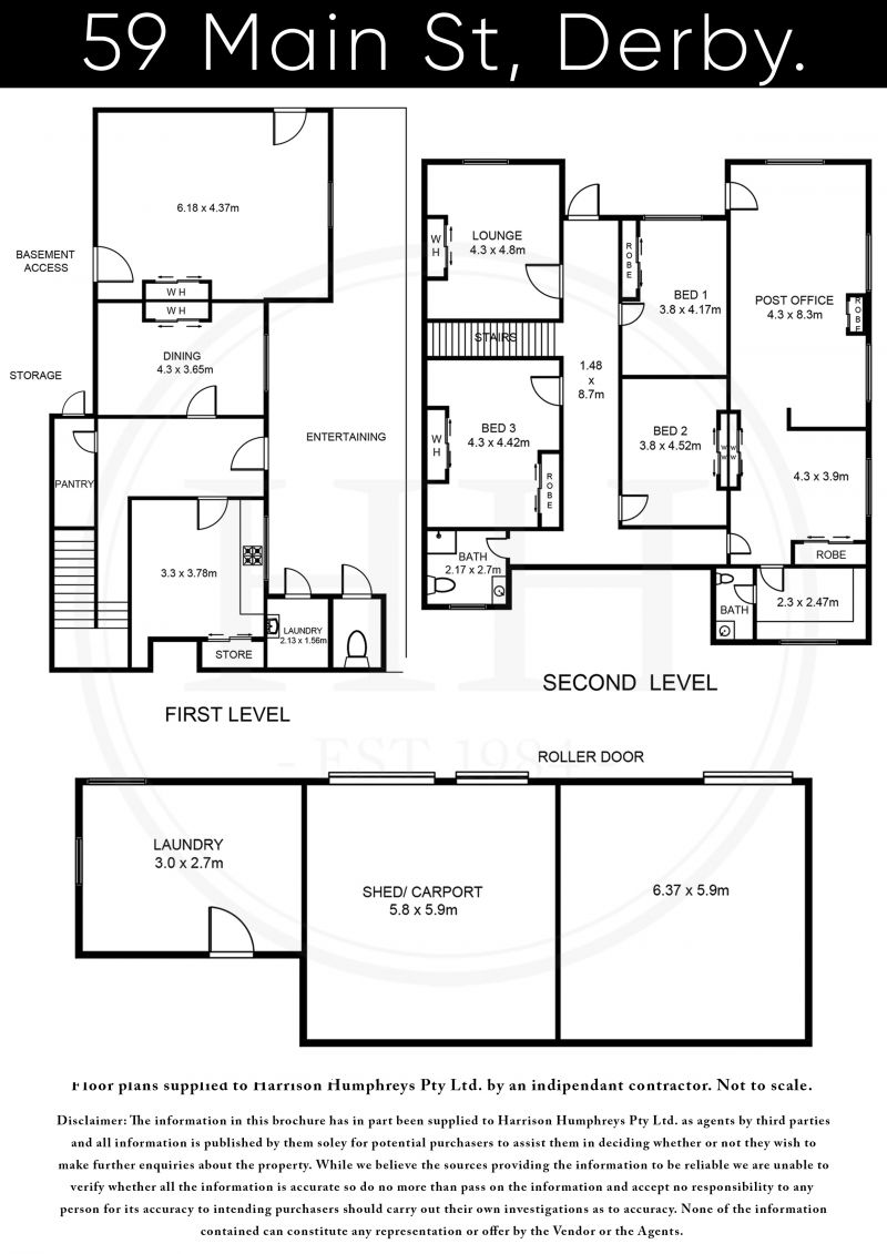 59 Main Street Floorplan