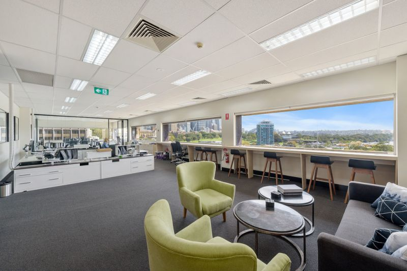 Elegant Office + 2 Cars Spaces - Light-Filled with Incredible City/Harbour Views