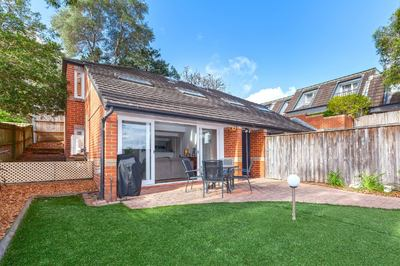 Enviable, quiet, convenient location, modern, light-filled design with oodles of outdoor space. Available immediately!