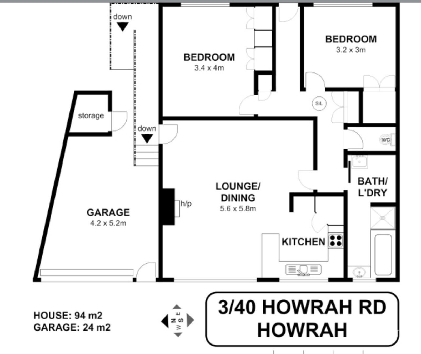 3/40 Howrah Road