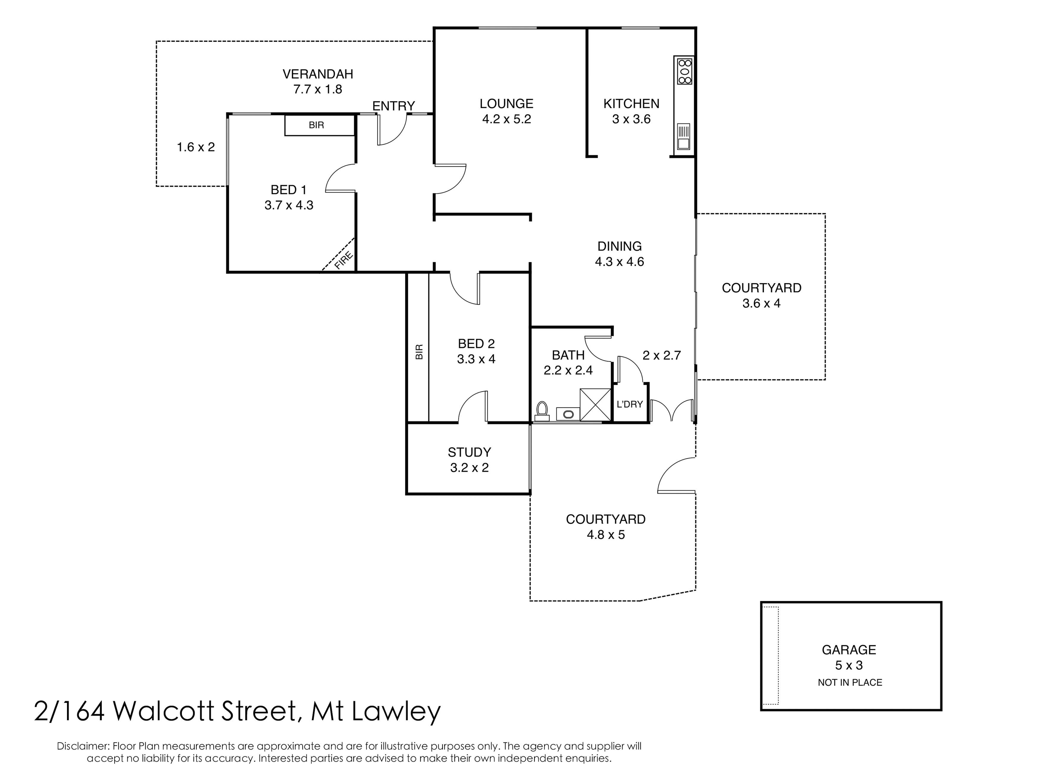 2/164 Walcott Street Mount Lawley 6050