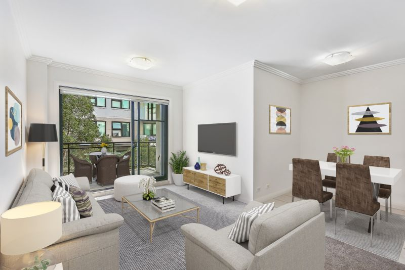 Newly Refreshed Apartment in Premier Waterside Location