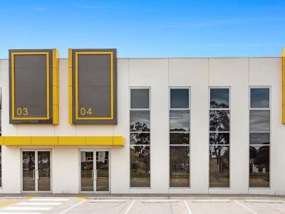 Brand New Altona Business Centre Showroom / Warehouse
