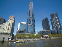 Eureka Tower, 22nd floor - FULLY FURNISHED: Where The Stars Are In Reach!