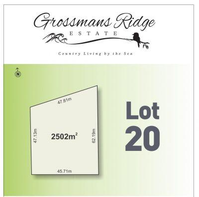 Lot 20/460 Grossmans Road, BELLBRAE