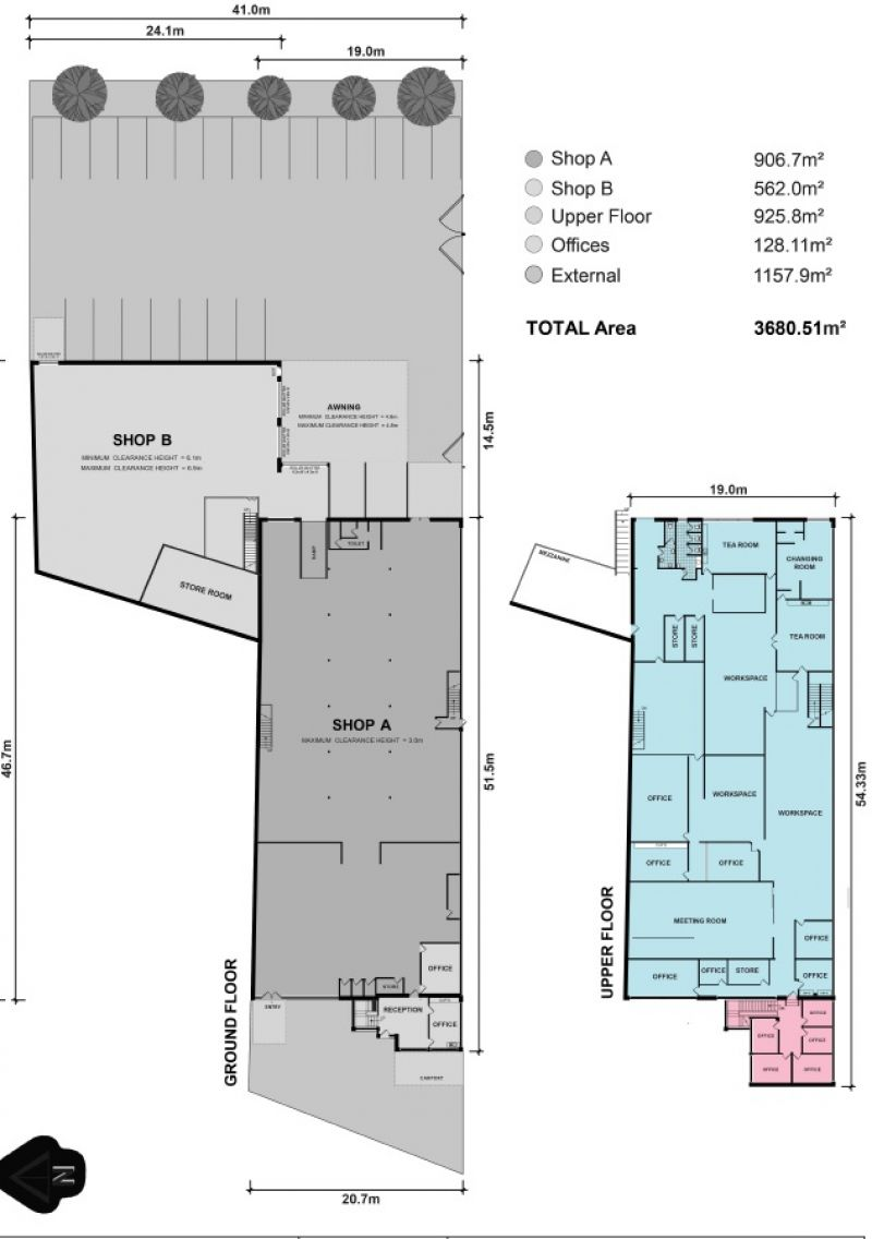 EXPANSIVE COMMERCIAL SPACE IN PRIME POSITION